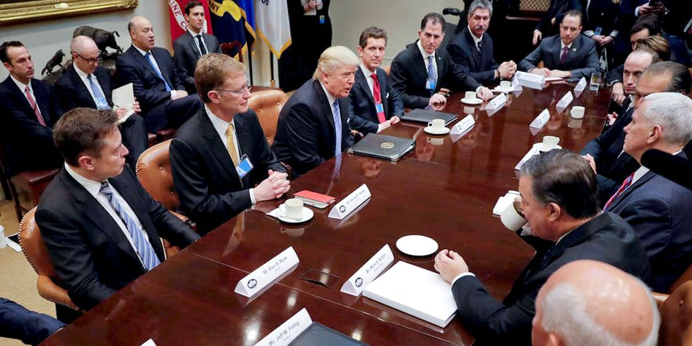 Trump Unleashes Cultural Shift Among America's Business Leaders