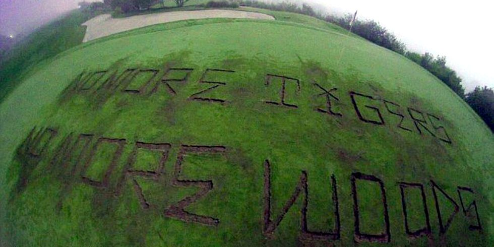 Trump Golf Course Vandalized Over President's 'Blatant Disregard' for the Environment