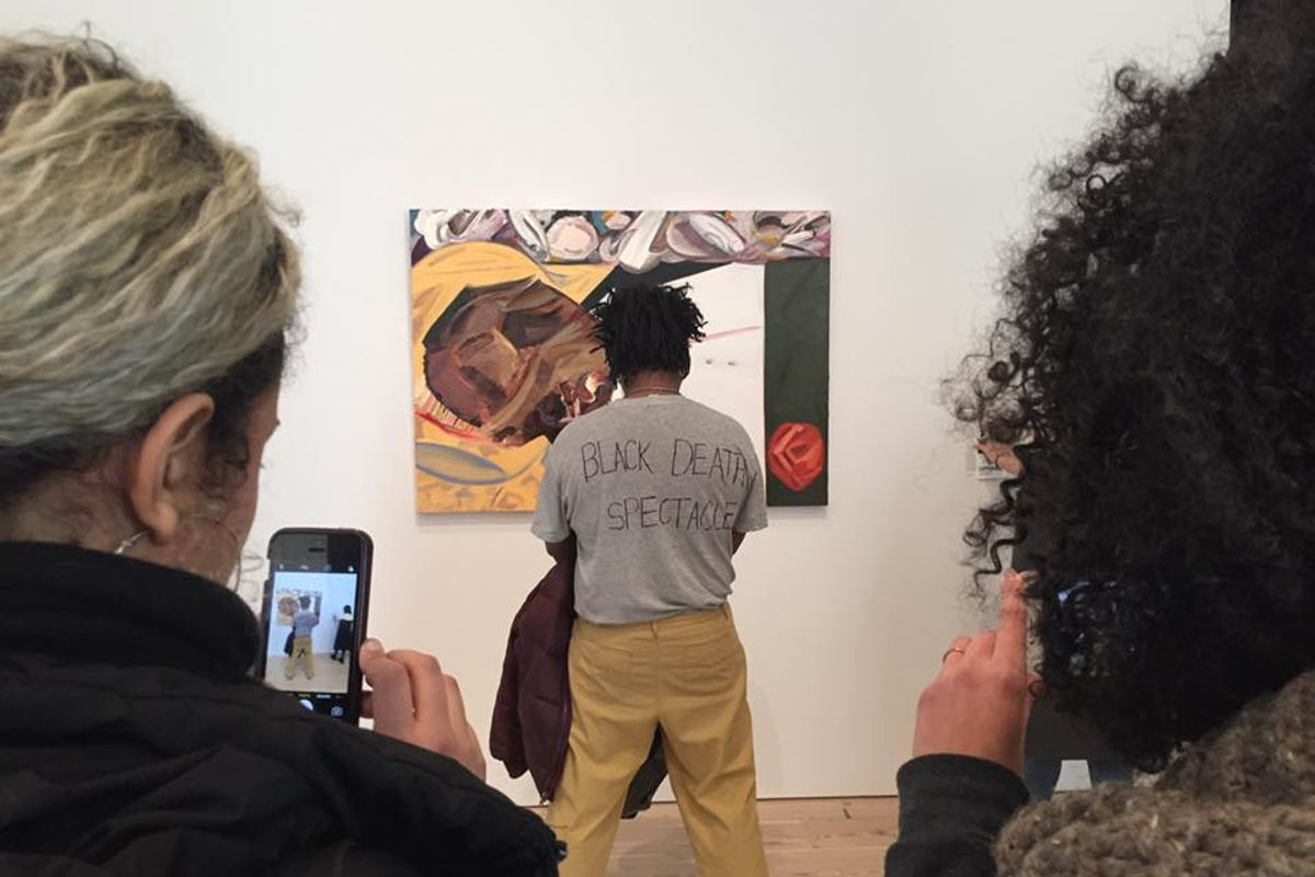 UPDATED: Open Letter Calls for Racially Insensitive Painting to be Removed from the Whitney Museum