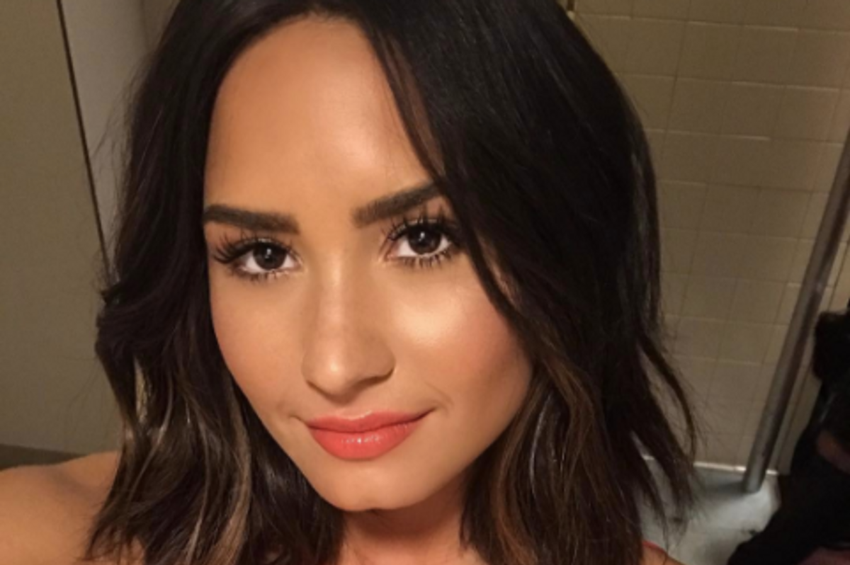 UPDATED: Demi Lovato Is The Latest Hacked Nudes Victim