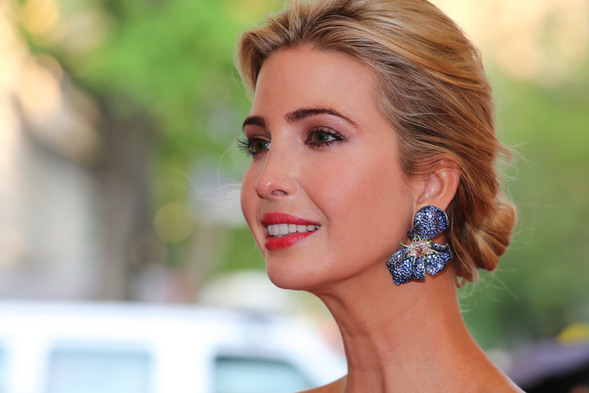 "Ivanka Trump's Company is Being Sued Because Having Don For a Daddy Gives Her Brand an ""Unfair"" Advantage"