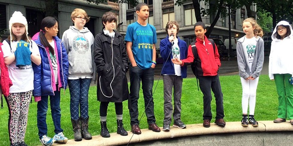 Climate Kids Demand Feds to Turn Over 'Wayne Tracker' Emails