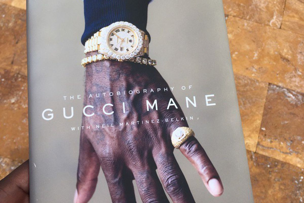Gucci Mane Reveals His Autobiography Cover