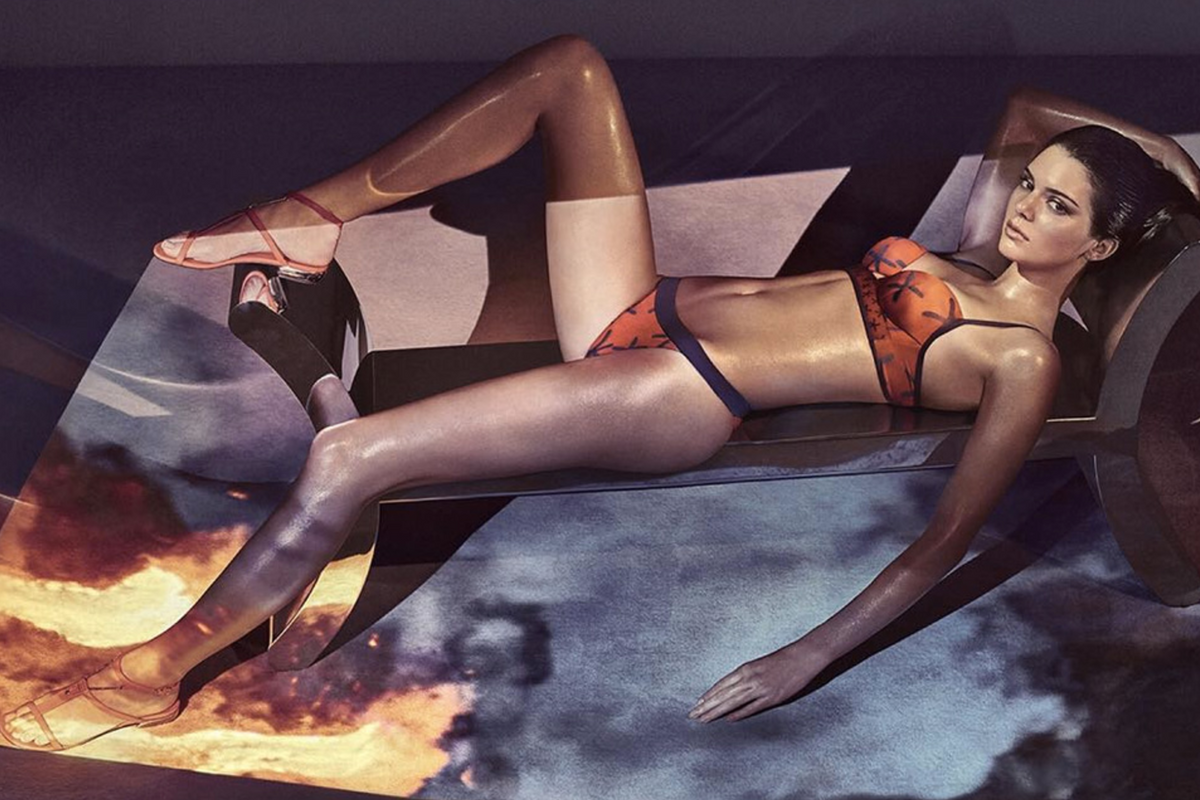 Kendall Jenner is the New Face (And Bod) of La Perla Lingerie