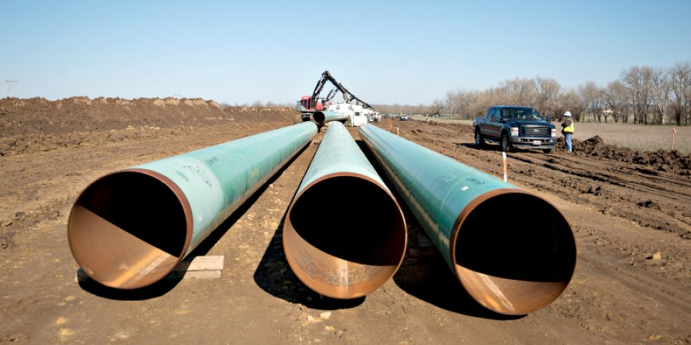 Trump Approves Keystone XL Pipeline, Groups Vow 'The Fight Is Not Over'