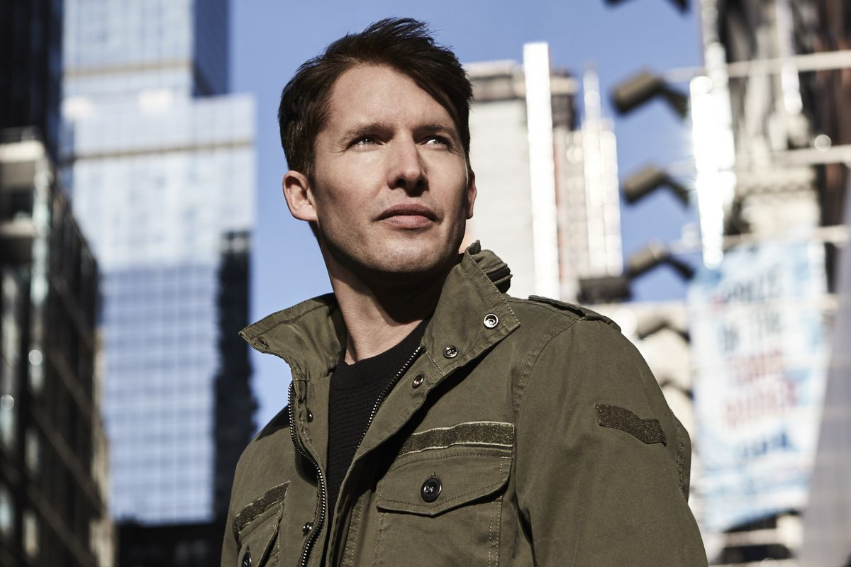 James Blunt on Ruling Twitter, Carrie Fisher, and How We Got Him All Wrong