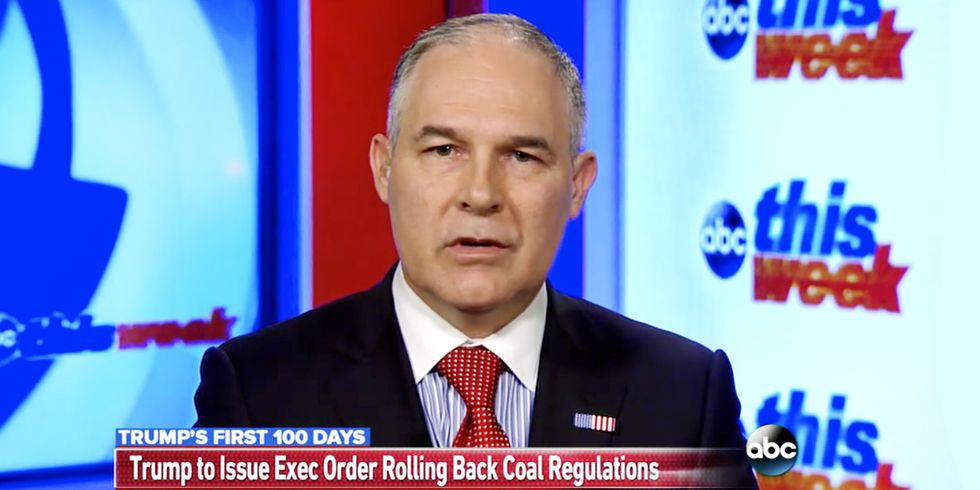 Trump to Roll Back Obama Climate Plan, Pruitt Calls Paris Agreement a 'Bad Deal'