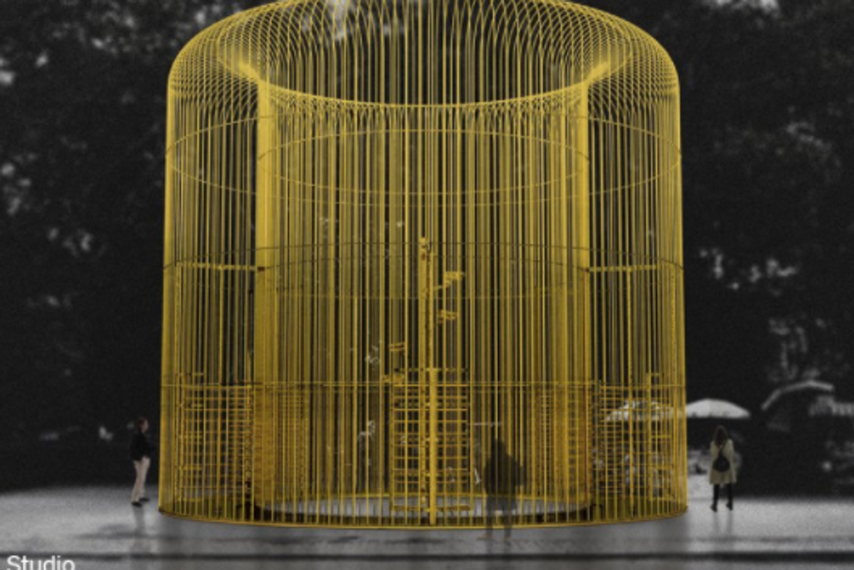 Ai Weiwei's Latest Project: Installing 100 Fences Throughout NYC