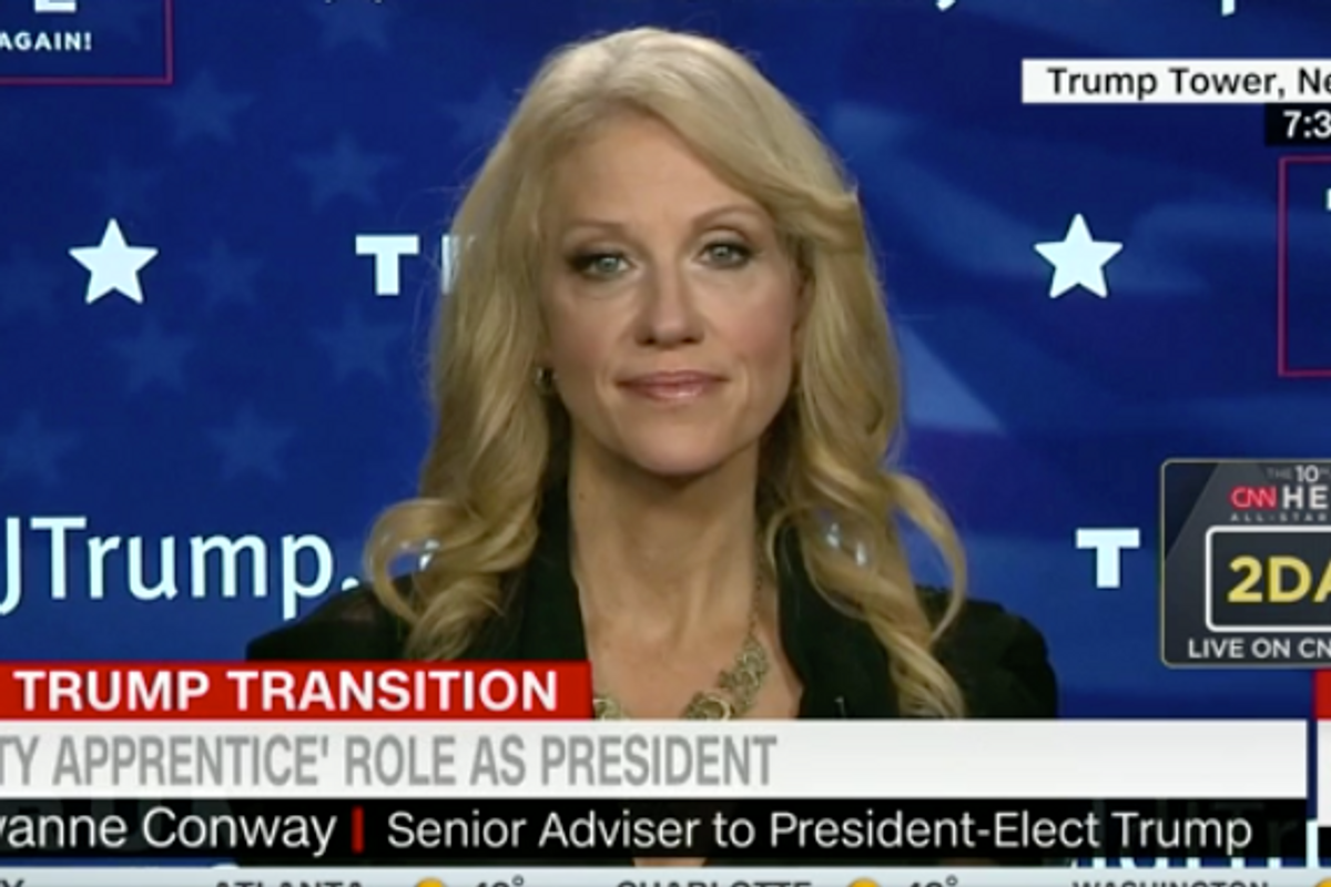 Kellyanne Conway's Favorite SNL Sketch is the One Where Kellyanne Conway Admits Trump is Crazy