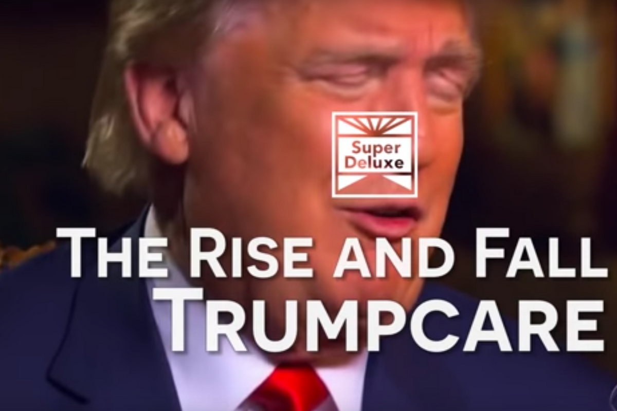 Super Deluxe Blesses the Internet with Two New Trump Spoofs