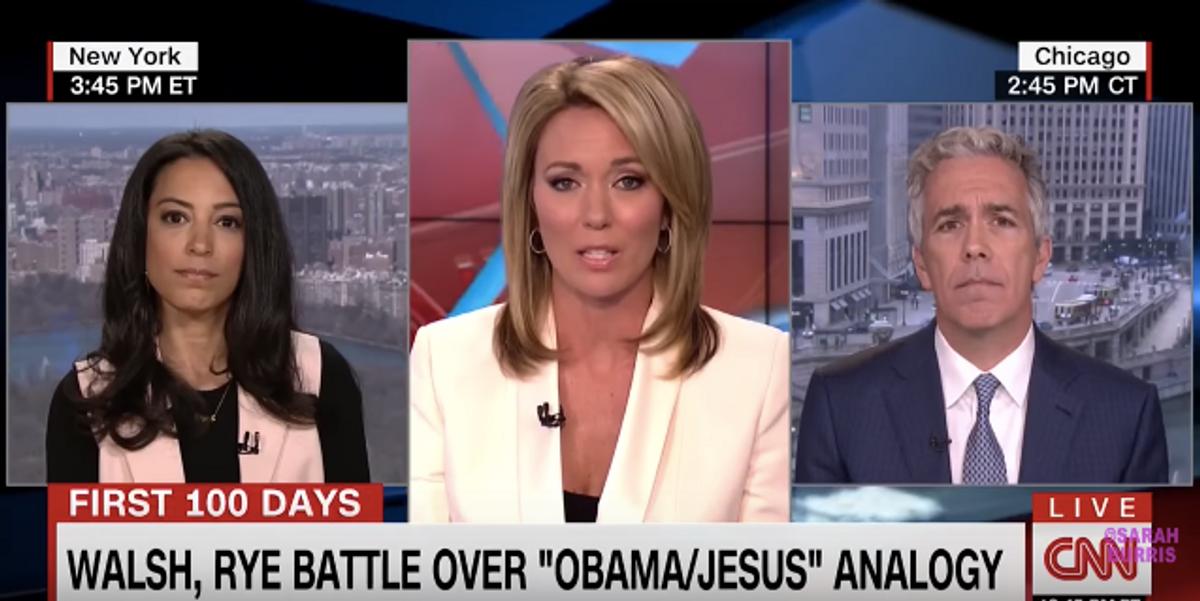 Watch Angela Rye Demolish Former Rep. Joe Walsh's Casual Racism