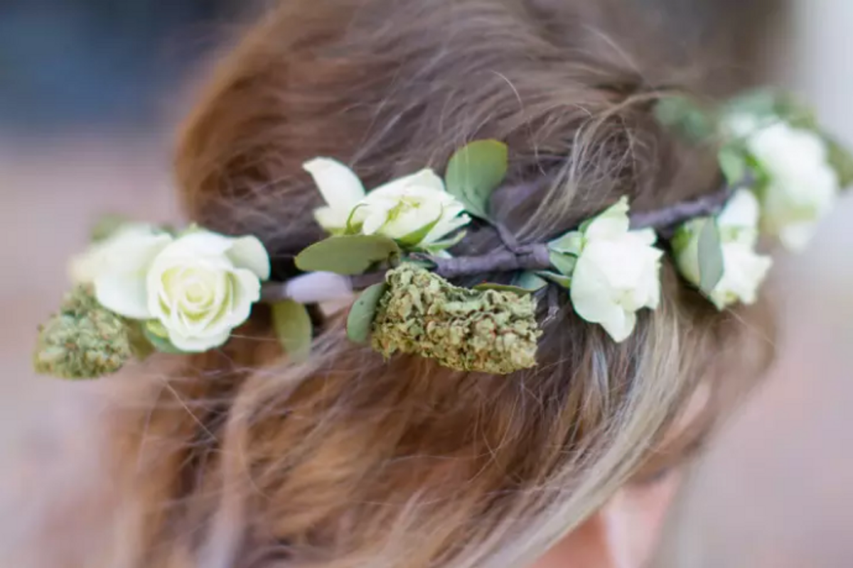 Finally, Your Stupid Coachella Flower Crown Can Get You High