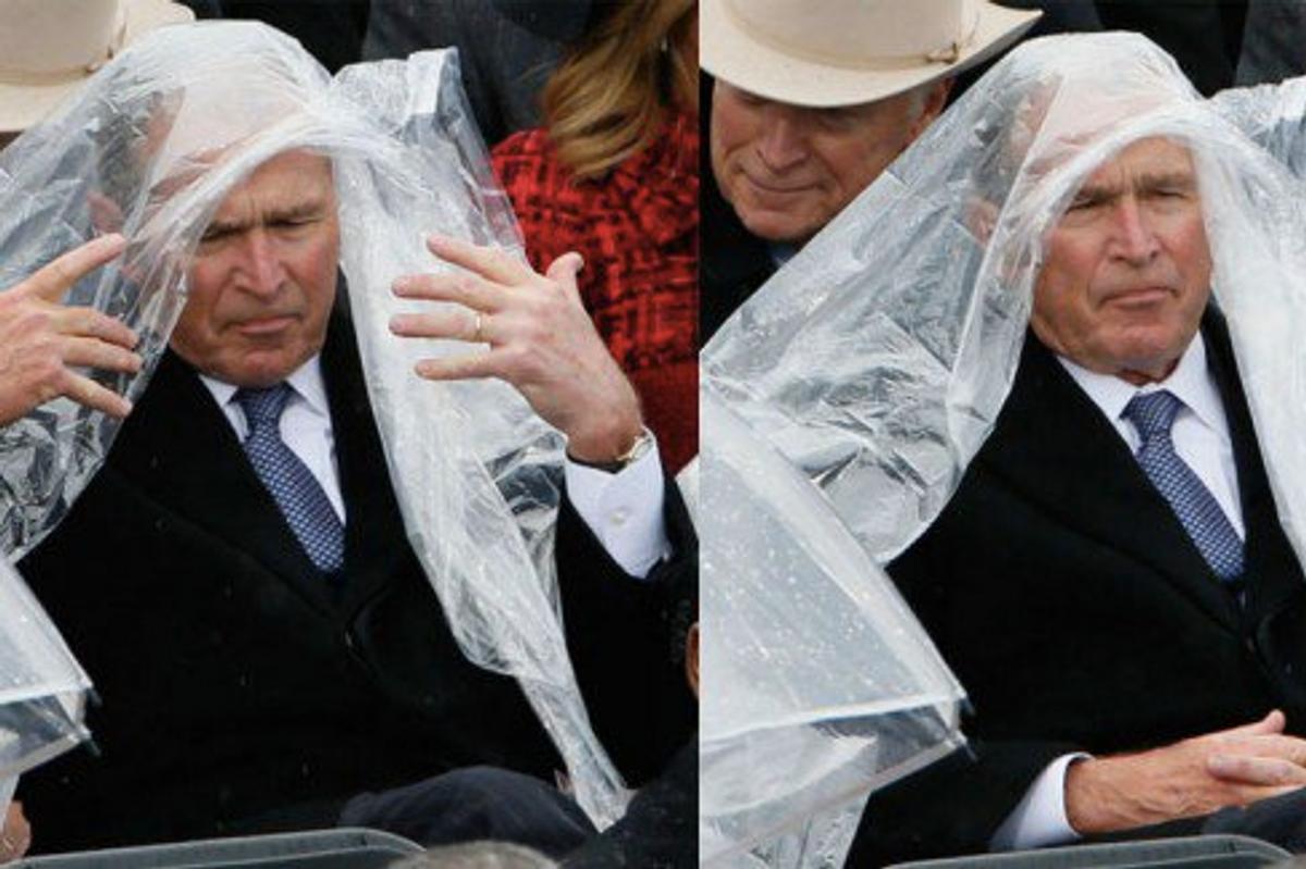George W. Bush Perfectly Summed Up Trump's Inauguration