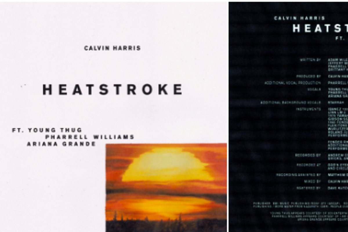 Listen to Calvin Harris's New Song with Young Thug, Ariana Grande and Pharrell