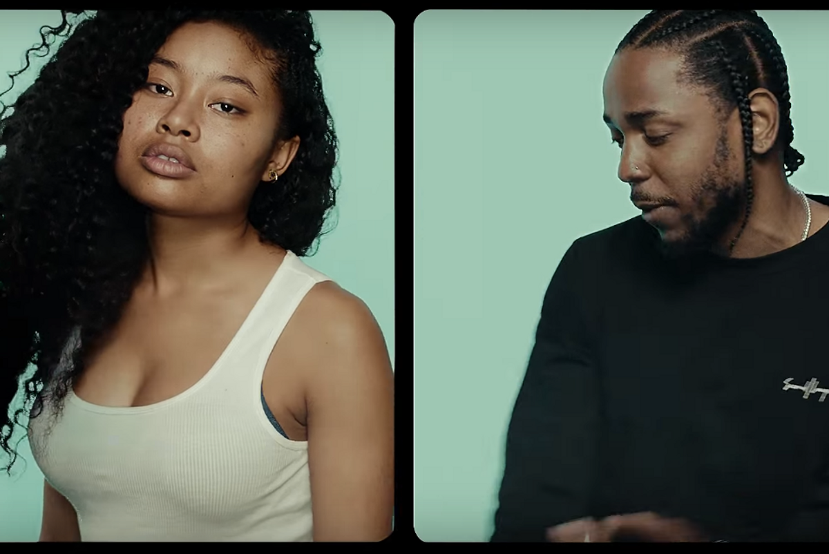 """Kendrick Lamar's Gorgeous New """"Humble"""" Video Opens Old Beauty Debate"""