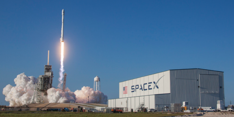 SpaceX Launches and Lands World's First Recycled Rocket