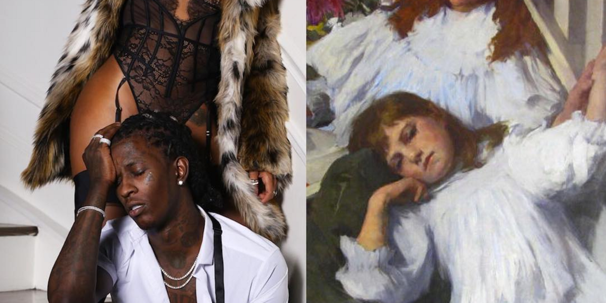 This Instagram Account Turns Young Thug into High Art