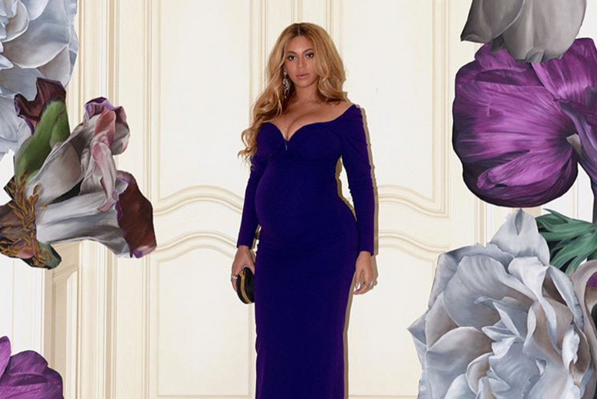 Beyoncé Might Be Hinting at Her Twins' Names With These Gorgeous Maternity Pictures