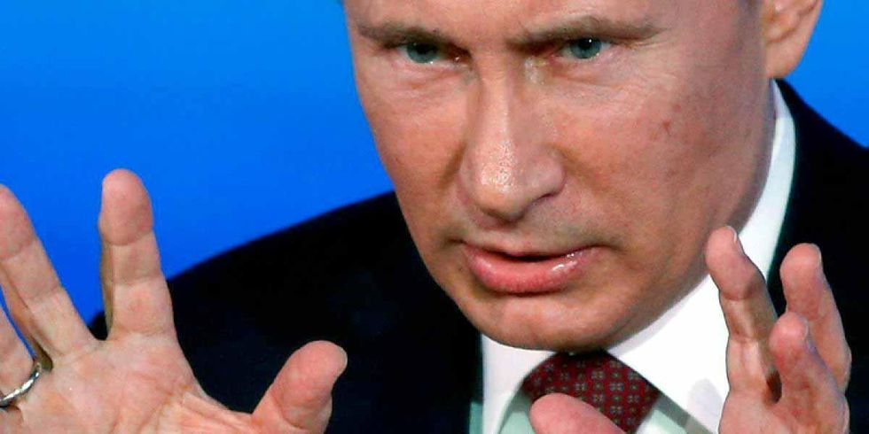 Putin Now Denies Humans Cause Climate Change