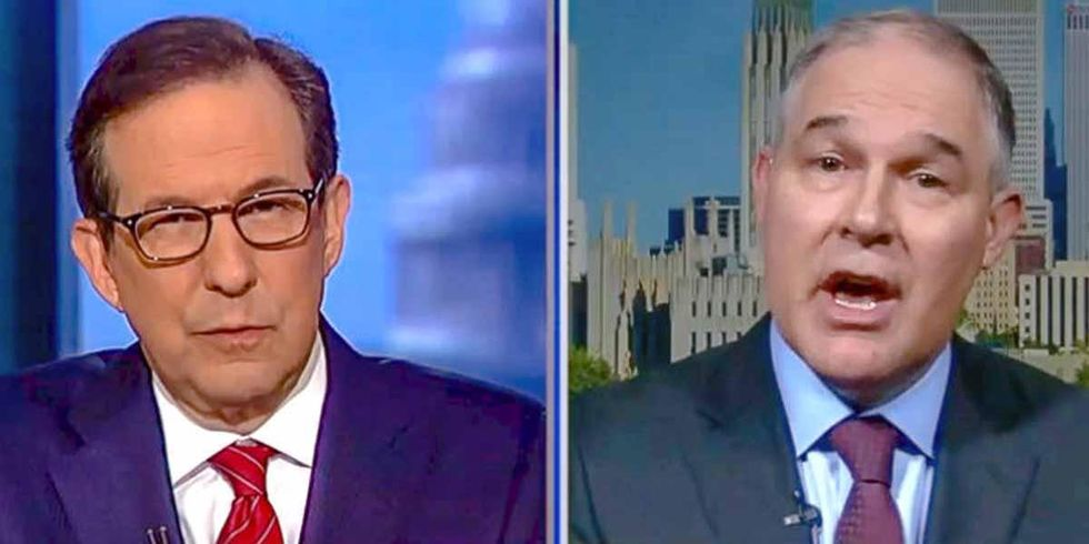 Fox News Grills Pruitt Over Climate Denial in Must-See Interview