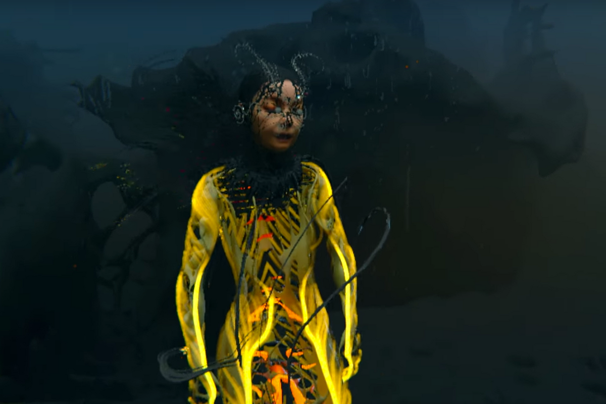 Watch a Björk Avatar Dance Through the Virtual Realm in New Video for 'Notget'