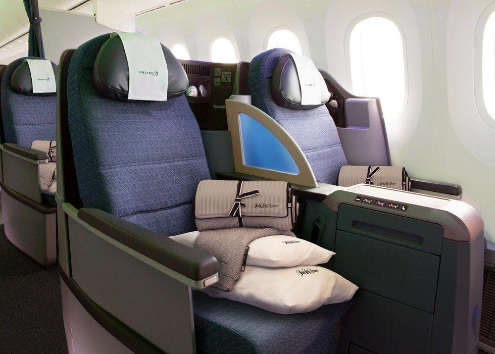 6816c8a50fa Cross country comfort: United Premium Transcontinental service debuts