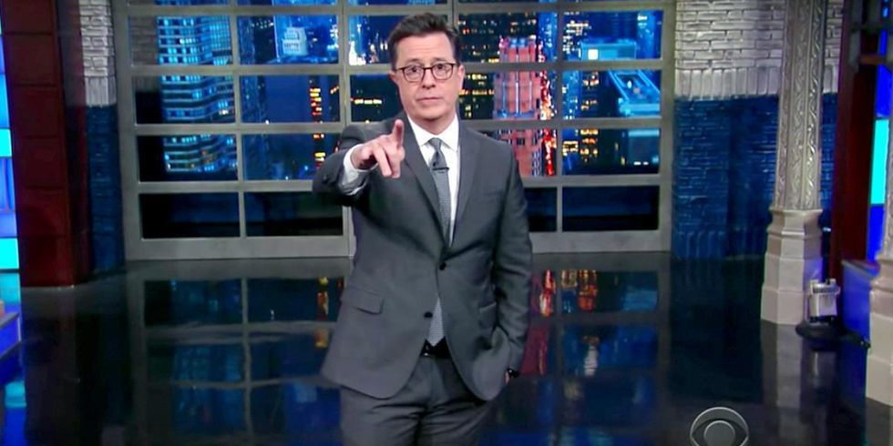 Colbert: Trump Couldn't Repeal ObamaCare So 'He Repealed the Environment' Instead
