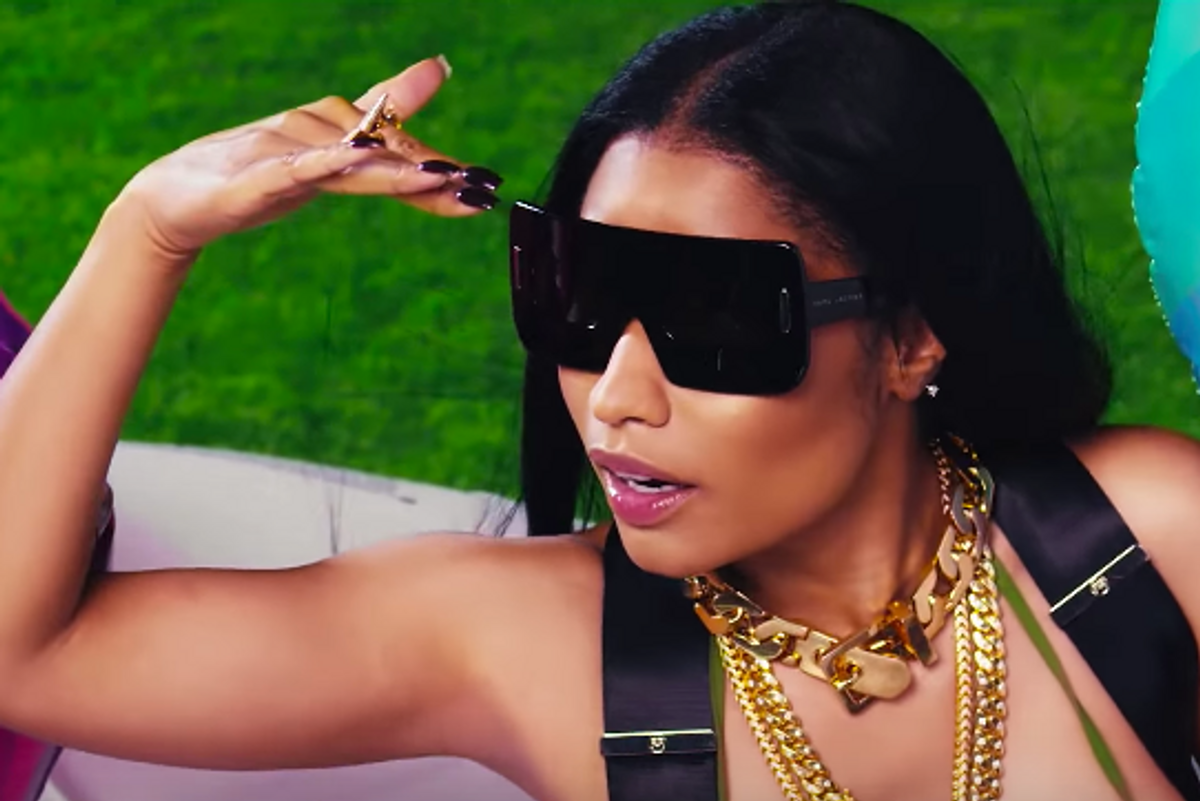 Watch Gucci Mane and Nicki Minaj Throw One Hell of a Pool Party in 'Make Love'