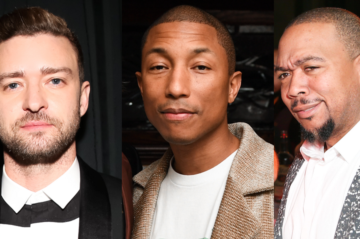 Justin Timberlake, Pharrell and Timbaland Are Back in the Studio Together Which Can Only Mean a New Album