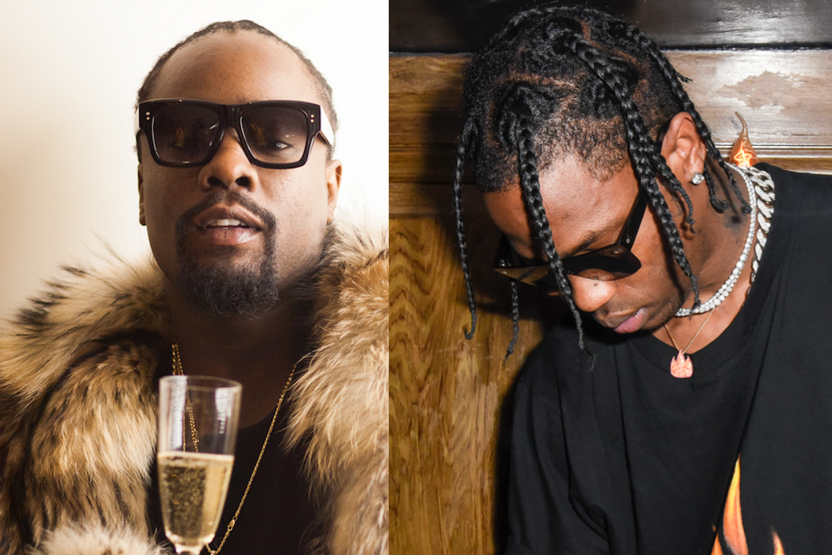 Listen to Wale's Latest Banger with Travis Scott Because Wow