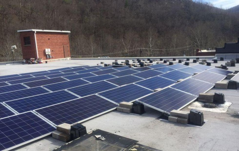 Kentucky Coal Museum Goes Solar