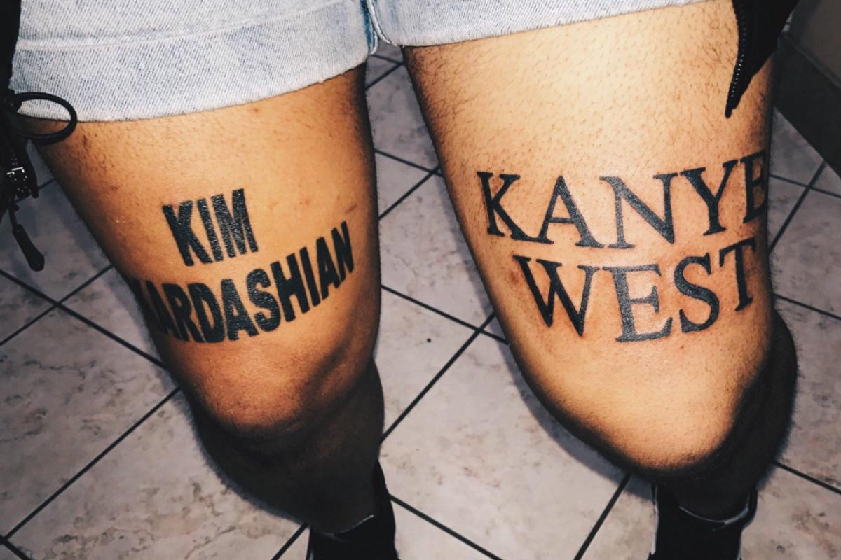 Kim Kardashian Is a Fan of Her Fan's Insane Tattoos