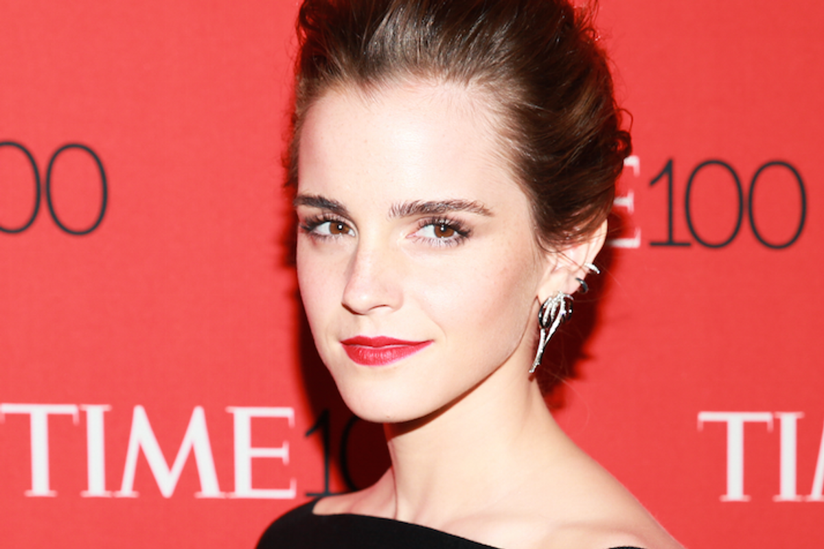 Emma Watson Explains Men Will Never Like Female Heroes Because They Just Can't Relate to Them