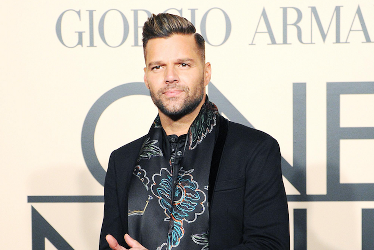 Ricky Martin to Star as Gianni Versace's Lover in New Season of 'American Crime Story'