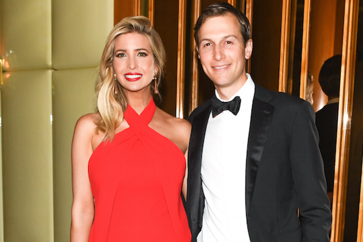"""Ivanka Trump and Jared Kushner are """"Too Busy"""" (Running the Country) to Attend the Met Gala"""