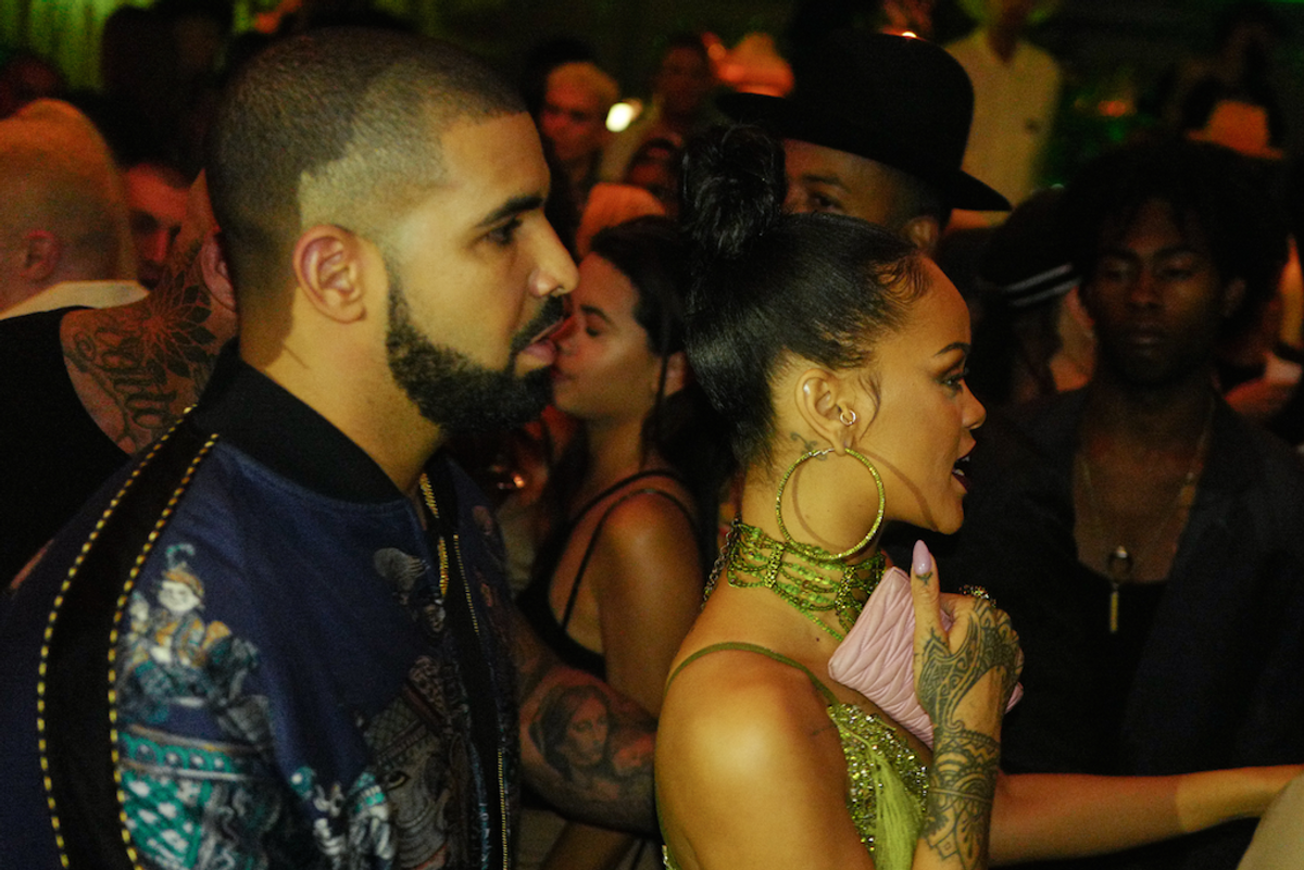 Suspected Ex-Lovers Rihanna and Drake Spent the Weekend Avoiding Each Other at a Kid's Birthday Party