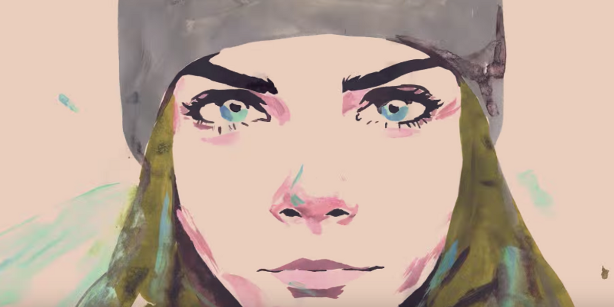 Watch an Animated Cara Delevingne Skateboard Her Way to Success in New Chanel Ad