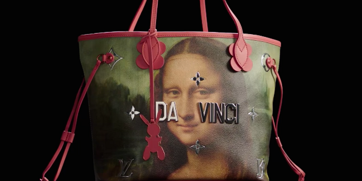 """Louis Vuitton Are Prepared for """"Pushback"""" for Remixing Iconic Works of Art with Jeff Koons"""
