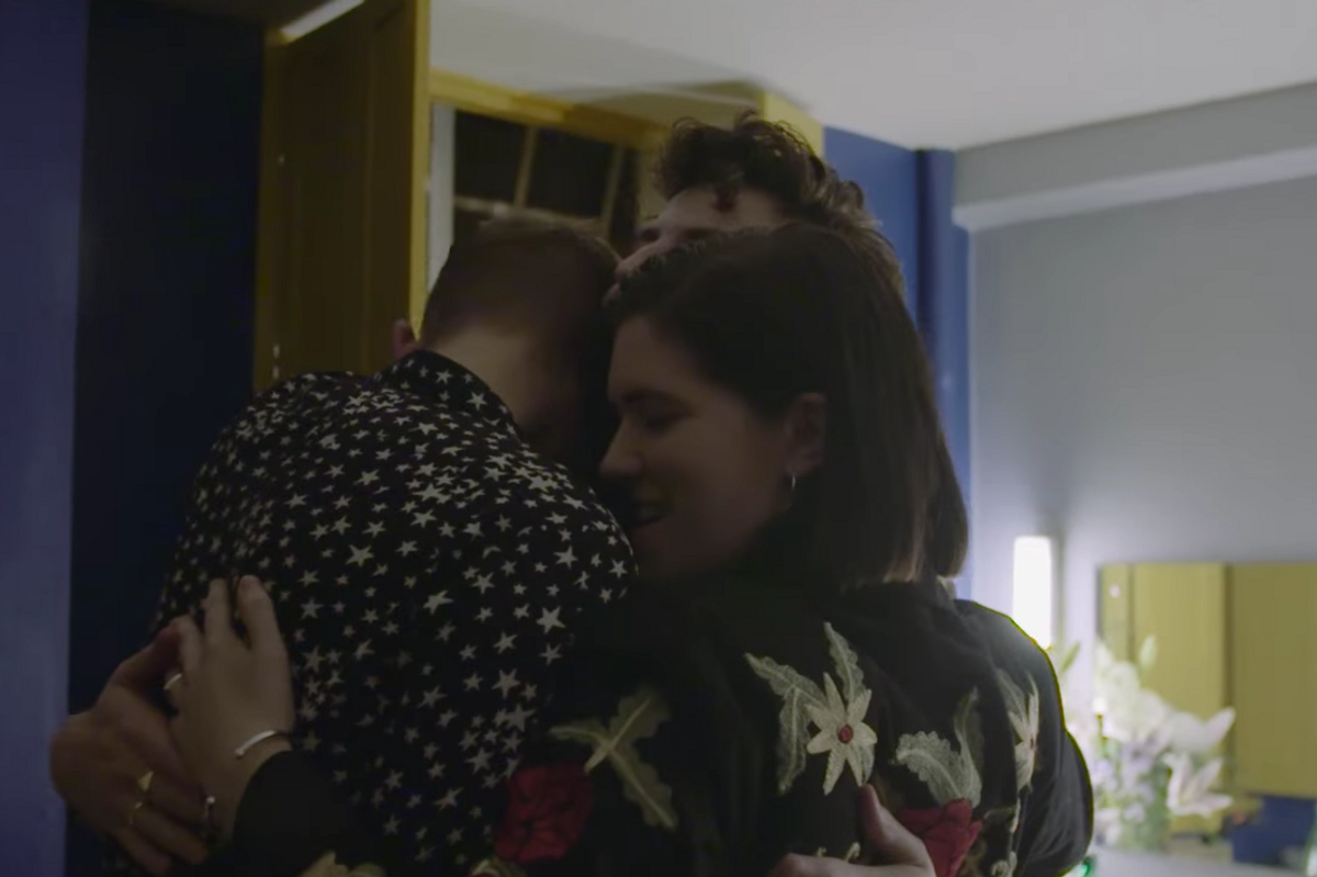 Watch the Touching Short Film for The xx's 'Night + Day' Concert Series