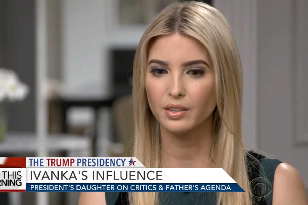 Ivanka Reveals She Doesn't Really Know What Complicit Means in Rare Interview