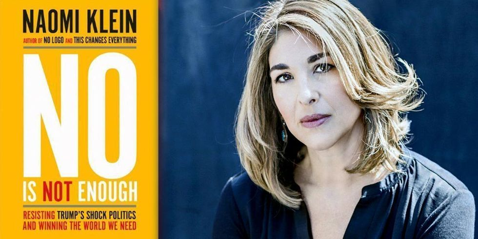 Naomi Klein: 'No Is Not Enough'