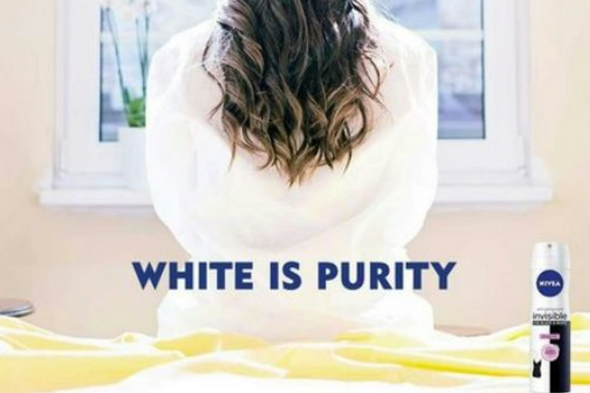 """The Alt-Right is Loving Nivea's """"White is Purity"""" Ad"""