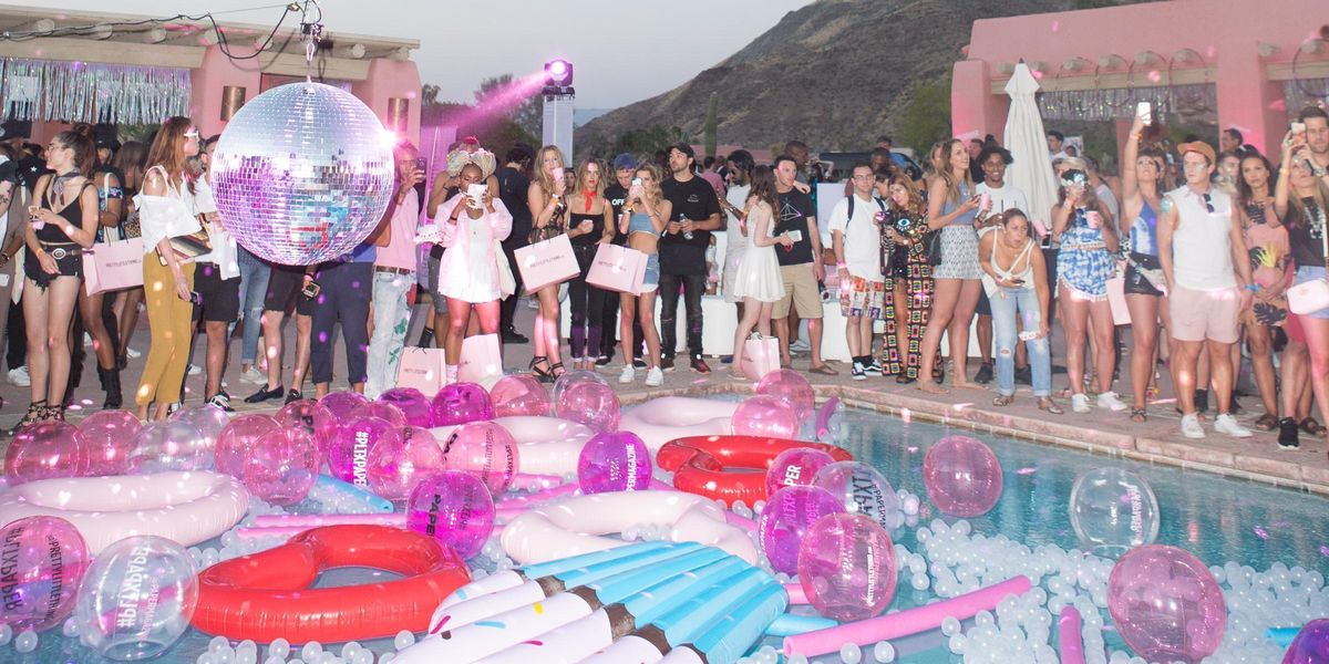 Peep the Scene at PrettyLittleThing and PAPER's Coachella Pool Party