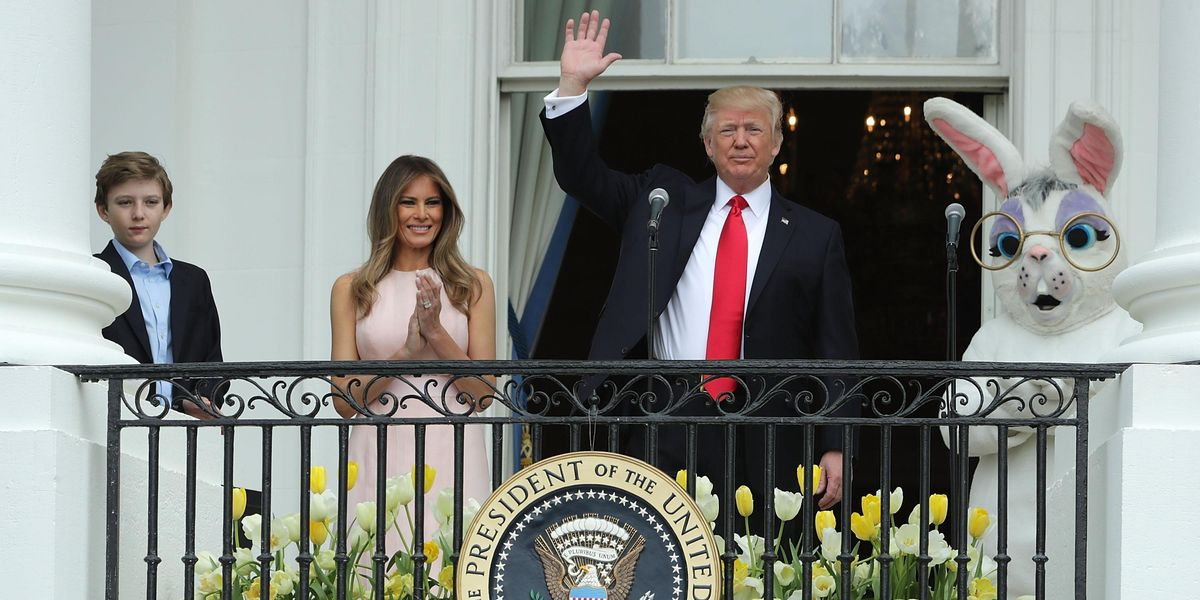 Melania Had To School Donald On Being An American