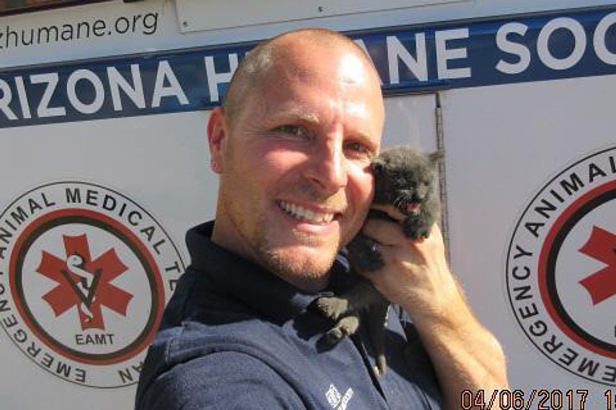Man Cuts Through Concrete to Save the Sweetest Little Kitten...