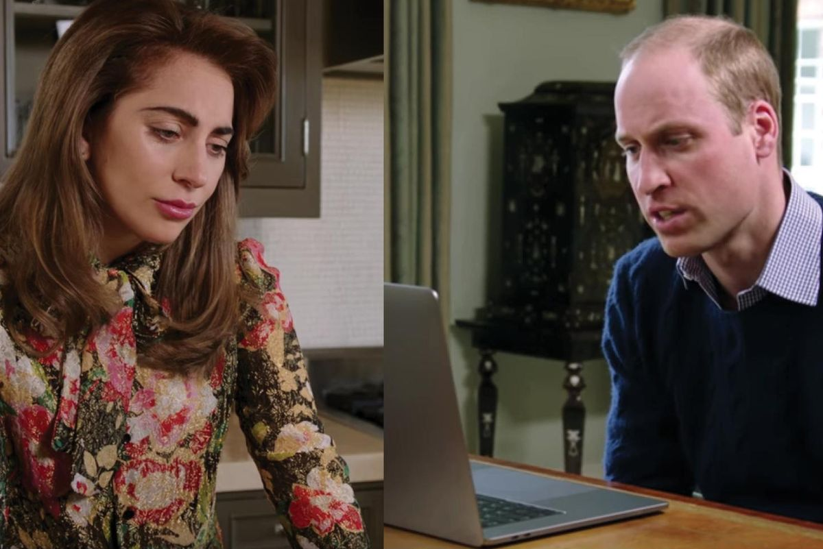 Watch Lady Gaga Discuss Mental Health Stigmas With Prince William