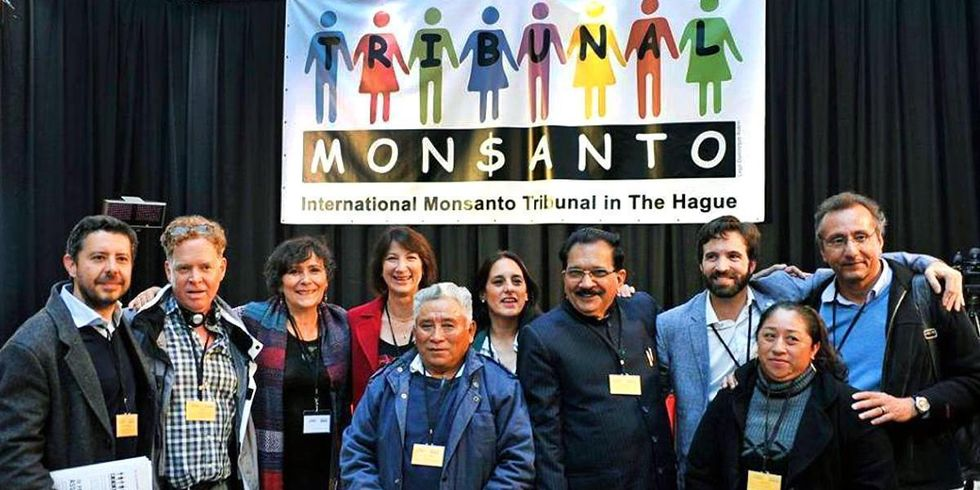Tribunal Judges: Monsanto Violates Basic Human Rights to a Healthy Environment