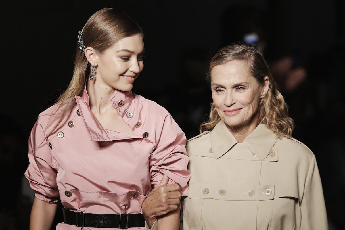 70s Icon Lauren Hutton is Now a 73 Year-old Calvin Klein Underwear Model