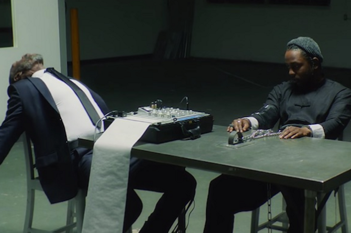 """Kendrick's New Video for """"DNA"""" with Don Cheadle is Another Masterpiece"""