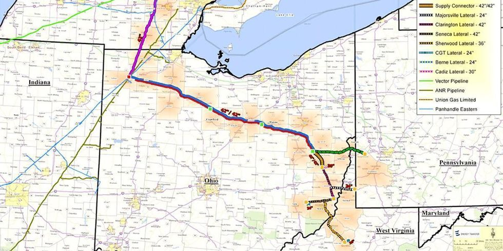 Widely-Opposed Pipeline 'Confirms Worst Fears' After Two Spills Into Ohio Wetlands